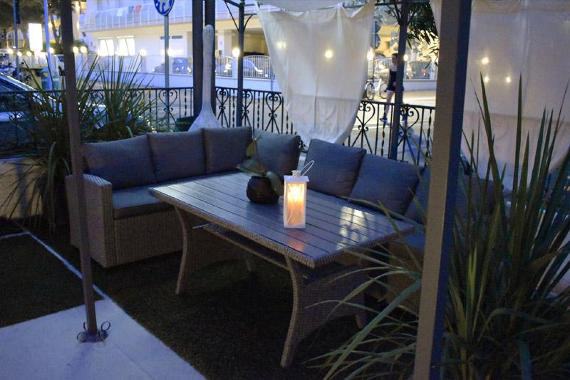 Garden Hotel evening